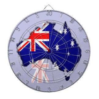 Australia Day Dartboard
