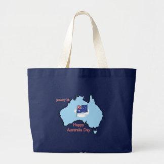 Australia Day January 26 Canvas Bags