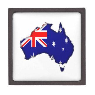 Australia Day Premium Keepsake Box