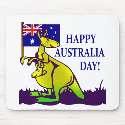 AUSTRALIA DAY T-Shirts and Gifts! Mouse Mats