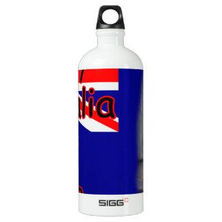 Australia Day Water Bottle