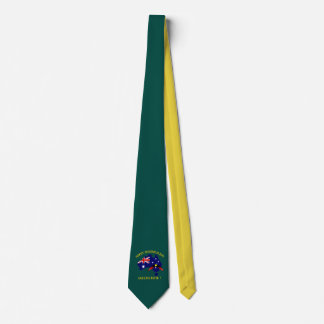 Australia Day with Boomerang Neck Tie