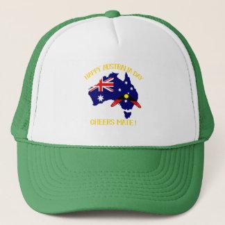 Australia Day with Boomerang Trucker Hat