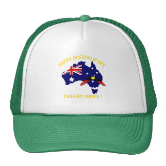 Australia Day with Boomerang Trucker Hat
