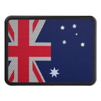 Australia Design in Carbon Fiber Chrome Style Tow Hitch Cover