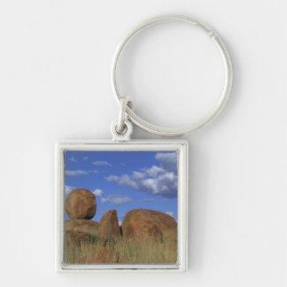 Australia, Devil's Marbles. Spherical sandstone Keychain