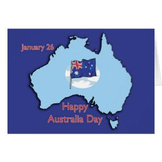 Australia día 26 de enero tarjetas