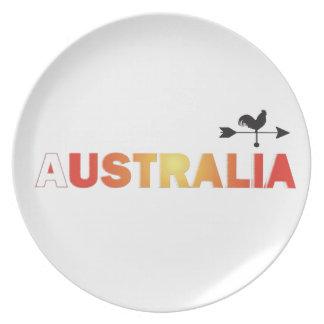 Australia Dinner Plate