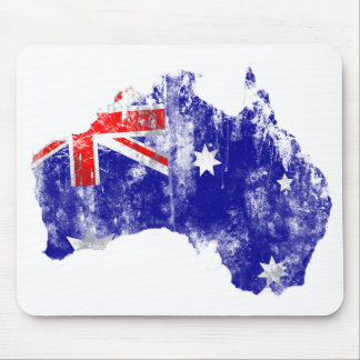 Australia - Distressed Mouse Pad