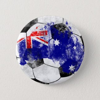 Australia Distressed Soccer Button