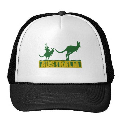 Australia divertida gorros