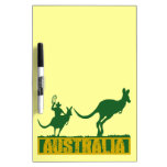 Australia divertida pizarra