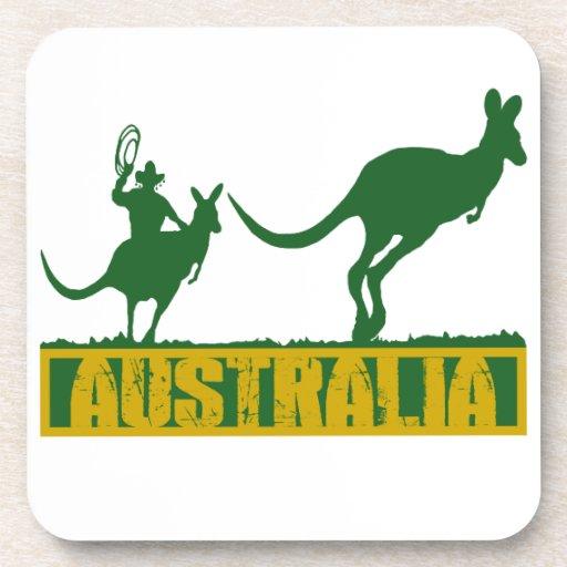 Australia divertida posavasos de bebidas