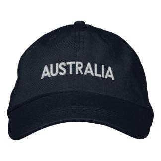 AUSTRALIA Downunder Patriotic Design Embroidered Baseball Hat