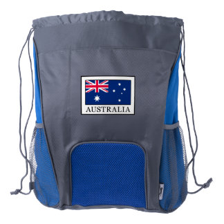 Australia Drawstring Backpack