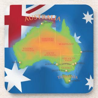 Australia Drink Coaster