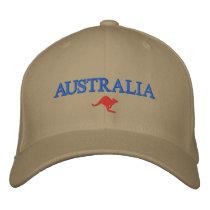 Australia Embroidered Baseball Cap