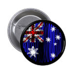 Australia en negro pin