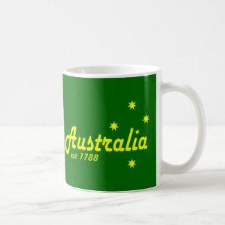 Australia Est 1788 Taza Básica Blanca