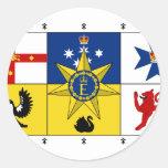 Australia estándar real, Australia Etiquetas Redondas