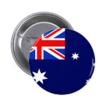Australia Flag 2 Inch Round Button