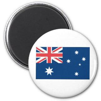 Australia Flag 2 Inch Round Magnet