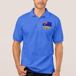 Australia Flag 3 Polo Shirt