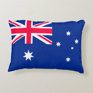 Australia Flag Accent Pillow