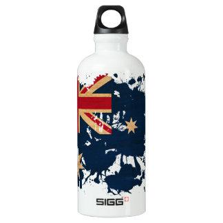 Australia Flag Aluminum Water Bottle