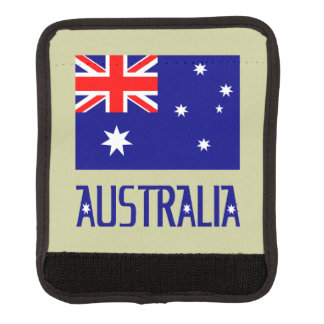 Australia Flag and Word Handle Wrap