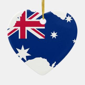 Australia flag Australia styles Design Ceramic Ornament