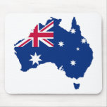 Australia flag Australia styles Design Mouse Pads