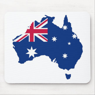 Australia flag Australia styles Design Mouse Pad