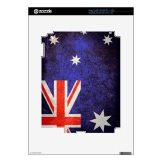 Australia Flag; Australian; Aussie; iPad 2 Decal