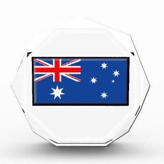Australia Flag Acrylic Award