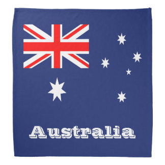 Australia flag bandana