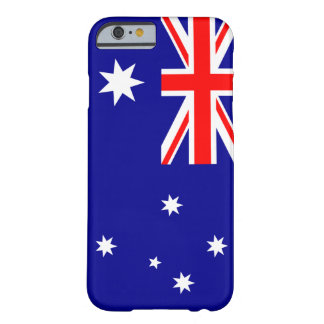 Australia Flag Barely There iPhone 6 Case