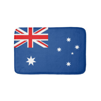 Australia Flag Bathroom Mat