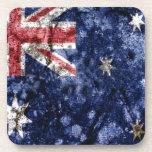 AUSTRALIA FLAG BEVERAGE COASTER