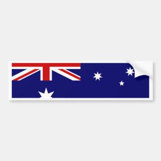 Australia Flag Bumper Sticker