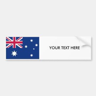 AUSTRALIA FLAG Bumper Sticker Car Bumper Sticker