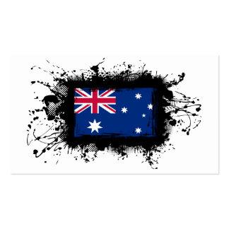 Australia Flag Business Card