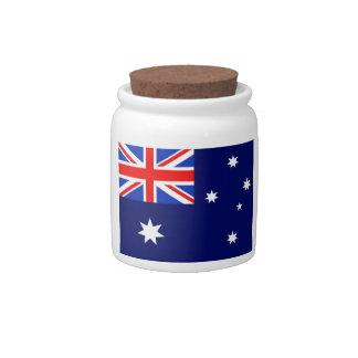 Australia Flag Candy Dishes