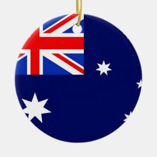 Australian Flag Ornaments & Keepsake Ornaments   Zazzle