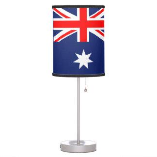 Australia flag desk lamp