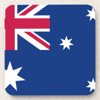 Australia Flag Drink Coaster