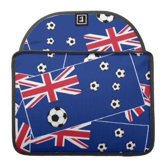 Australia Flag Football Soccer MacBook Pro Sleeves