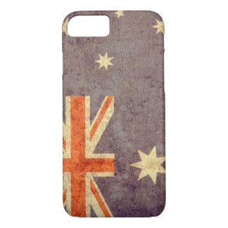 Australia Flag - Grunge iPhone 7 Case