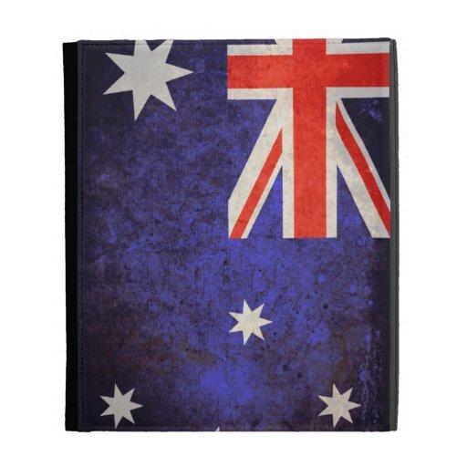Australia Flag; iPad Folio Cases
