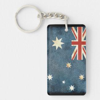 Australia Flag Key Chain Souvenir